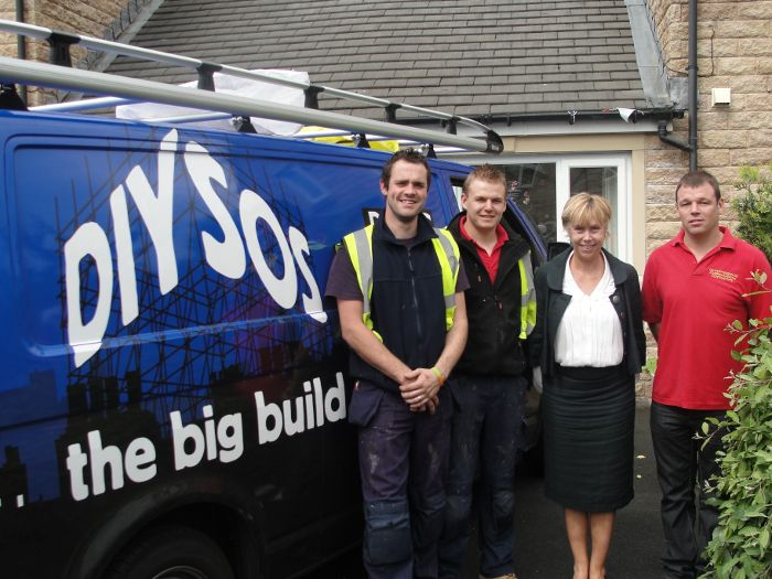 Dale Stephenson Ltd employees whilst being on 'DIY SOS: The Big Build'